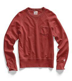 Pocket Sweatshirt (Faded Red)