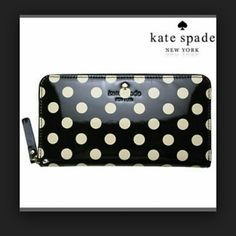 Price firm: NWT Kate spade wallet Brand new!! Exactly as seen in picture! Super cute fun and girly Kate Spade piece!  kate spade Bags Wallets