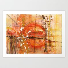 Nr. 1 Art Print by Annabella Rharbaoui - $18.72