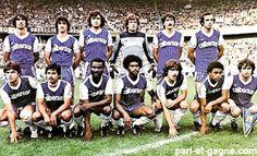 EQUIPOS DE FÚTBOL: BASTIA Campeón de la Copa de Francia 1981