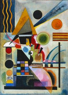 "lonequixote: "" Swinging by Wassily Kandinsky """