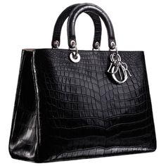 "Crocodile ""Diorissimo"" bag"