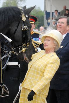 The Press Photographer's Year 2007. FIRST PRIZE : Royals Her Majesty The Queen has an unexpected equine encounter at Royal Windsor Horse Show by MARK...