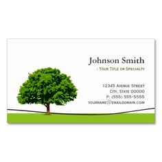 Wise Oak Tree Symbol - Professional Tree Service Business Cards. This great business card design is available for customization. All text style, colors, sizes can be modified to fit your needs. Just click the image to learn more!