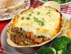 Shepherds Pie Recipe  (I will add cheese on top of the potatoes.  That's how our mother made it when we were kids.)