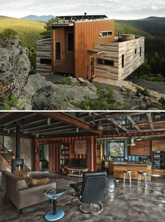 Container House - Shipping Container Homes That Will Blow Your Mind – 15 Pics Who Else Wants Simple Step-By-Step Plans To Design And Build A Container Home From Scratch? Building A Container Home, Container Buildings, Container Architecture, Container Home Designs, Architecture Design, Sustainable Architecture, Shipping Container Homes, Shipping Containers, Cargo Container Homes