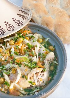 Tajine met kip en venkel, een heerlijk gerecht voor in het weekend.