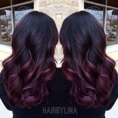 Raiprefanri: schwarze haare braun färben