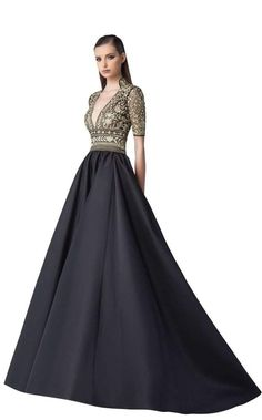 Edward arsouni couture 0239 in 2019 Elegant Outfit, Elegant Dresses, Pretty Dresses, Couture Dresses Gowns, Fashion Dresses, Evening Dresses, Prom Dresses, Formal Dresses, Eastern Dresses