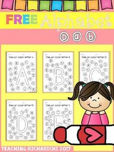 FREE Alphabet Dab (A-Z)Inside you will find 26 pages of alphabet dab worksheets from A - Z for pre-k and kindergarten.These are great for alphabet fluency.Hope you liked it!If you like this product please checkout my other products too :Save big with bundle :Alphabet Trace and Color The BUNDLEDolch Sight Word Activities The BUNDLESight Word Cut and Paste Worksheets (The Bundle)Other product :Reading ComprehensionAlphabet Cut and Paste Activities (Upper and Lower case)CVC Cut and PasteCVC…
