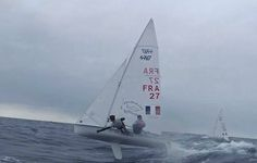 Flying 470 with the french team Bouvet Mion Sailing team !!