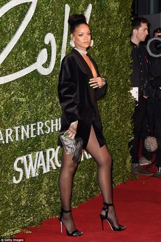 The sexy style is championed by the most stylish of women - especially sexy star Rihanna - and you can take note this party season