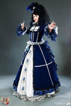 velvet Tardis gown