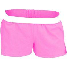 Soffe Juniors' New 'Soffe' Shorts, Women's, Size: Medium, Pink