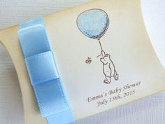 Winnie the Pooh Baby Shower Favor Box by simplyprettypieces