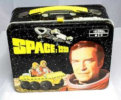 Vintage Lunchbox, Space:1999 lunch box, vintage lunchbox, antique lunch box, old lunch box