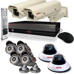 $1,457.55 - 16-Channel #Security System with 4TB DVR : Complete #Surveillance Systems