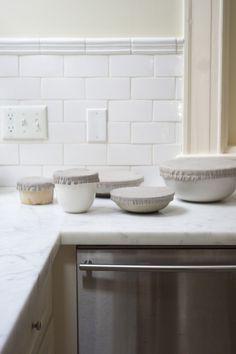 recouvres-plats en lin (différentes tailles avec des élastiques)