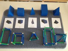 love the line work to go with the solids-great for the Montessori elementary math shelf math Travail sur les solides, sommets & arêtes Montessori Education, Montessori Classroom, Montessori Activities, Geometric Solids, Montessori Practical Life, Math Concepts, Math For Kids, Elementary Math, Cycle 2