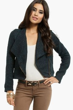 Tweed Hart Jacket $40 on Wanelo