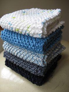 Lavette au tricot facile – AnnyMay Espace Créatif