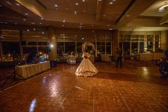 First Dance in front of our amazing view from the Harbor Side Ballroom, DECC, Duluth, MN weddings  @miss