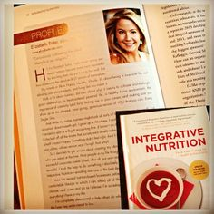 """Extremely honored to be featured in the new book """"Integrative Nutrition: Feed Your Hunger for Health and Happiness"""" - I got a sneak peek and it's SO good, I highly recommend the #read if you want to learn more about #nutrition. Available now for pre-order on Amazon. #iinphoto #enlightenedliving"""