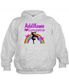 SUPER STAR GYMNAST Hoodie Give the holiday gift every Gymnast will treasure with our personalized Gymnastics Tees and Gifts.   http://www.cafepress.com/sportsstar/10114301 #Gymnastics #Gymnast #WomensGymnastics #Lovegymnastics #Personalizedgymnast