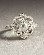 this is a beautiful vintage ring! I wouldn't want it for a wedding ring, but just another ring I would love it!