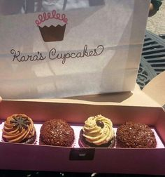 Kara's Cupcakes Opening Day in Monterey, CA OMG so good!!!!! #KarasSweetsMonterey
