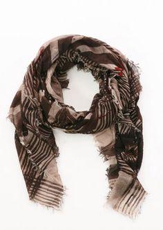 Wollschal Wonderful von Faliero Sarti neu eingetroffen bei nobananas mode #newcollection #fw16 #scarf #schal #falierosarti #nobananasmode nobananas.de