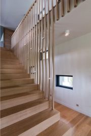 cool stair design from Földes Architects. Two in One House interior design   #contemporary #design #architecture #stairs
