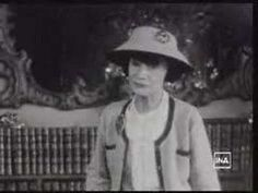 """Coco Chanel interview, 1959. And if you haven't watched it yet, see """"Coco Before Chanel"""", starring Audrey Tautou."""