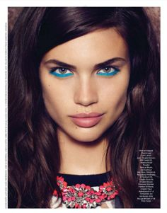 Sara Sampaio by Nelson Simoneau for Be May 2013