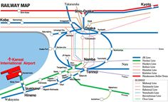 Kansai Intl Airport - Railway Networks