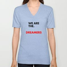 US V-neck T-shirt by THE USUAL DESIGNERS - $24.00