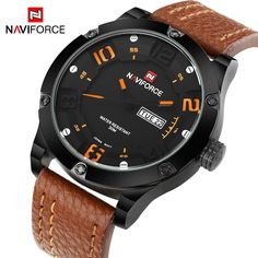 16.99$  Buy now - http://alikwo.shopchina.info/go.php?t=32561644198 - 2016 Top Luxury Brand Men Sports Military Watches Men's Quartz Analog Hour Date Clock Fashion Casual Leather Strap Wrist watch  #magazine