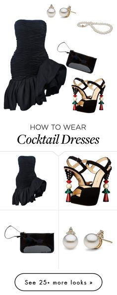 """Untitled #1611"" by sdee02 on Polyvore featuring Emanuel Ungaro, Charlotte Olympia and N'Damus"