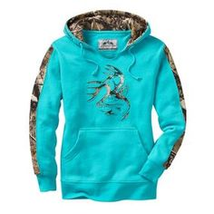"""""""Ladies Big Game Camo Outfitter Hoodie 