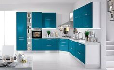 Cucina Verde Petrolio: 20 Modelli di Design a cui Ispirarsi | MondoDesign.it
