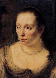 Ferdinand Bol. Portrait of a Lady (1650 - 1654)