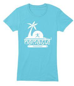 ae9ff0d0e0 Namaste' Beaches Women's American Apparel Yoga Tees. 10 Cool Colors  Available! My Yoga