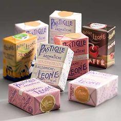 Pastiglie Leone - Vanilla is my favorite flavor (raspberry - lampone - is a close second)
