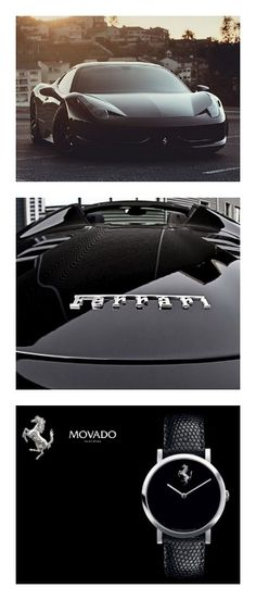 Timeless! 'Luxury is about the finer details' Click to see this amazing Ferrari watch collection... #Ferrari #beauty