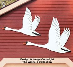 All Yard & Garden Projects - Flying Swans Woodcraft Pattern Swan Drawing, Fly Drawing, Garden Projects, Wood Projects, Woodworking Projects, Wood Supply, Different Types Of Wood, Wood Creations, Wood Pieces