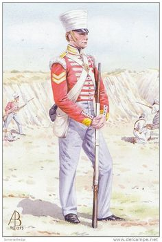 CORPORAL THE 10th NORTH LINCOLN REGIMENT OF FOOT 1846