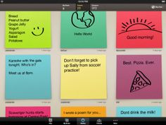 Post it notes iPhone app!