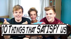 We did a video with the absolutely hilarious JessMylesTV on @YouTube. Want to know how to be satisfied? Check out our top ten ways! http://twitter.com/nikinsammy http://facebook.com/nikinsammy