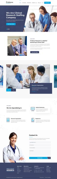 Check out pwestonf's new web page design from Ux Design, Page Design, Graphic Design, Website Design Inspiration, Web Design Inspiration, Medical Websites, Clinical Research, Website Designs, Website Layout