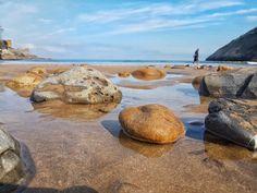 Playa oriñon en Castrourdiales